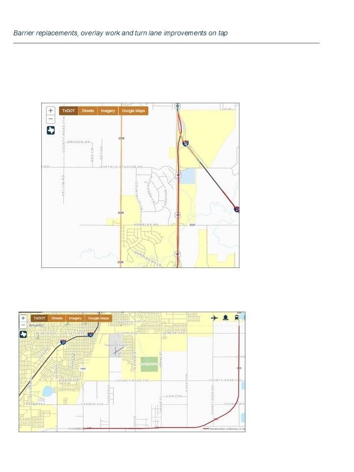 TXDOT-Road Closure 4-22-19